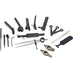 Lathe Tool Kit for Rocker Style Tool Post, 20 Pc.