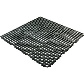 Black Grease Resistant Mat 3' x 3' x 3/4""