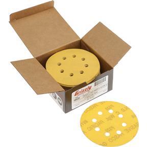 "5"" A/O Sanding Disc, 320-C Grit H&L 8 Hole, 50 pk."