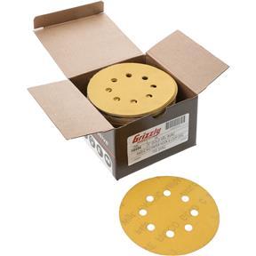 "5"" A/O Sanding Disc, 400-C Grit H&L 8 Hole, 100 pk."