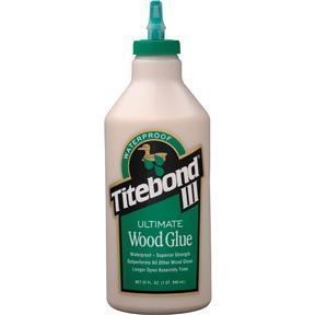 III- Ultimate Wood Glue, 1 qt.
