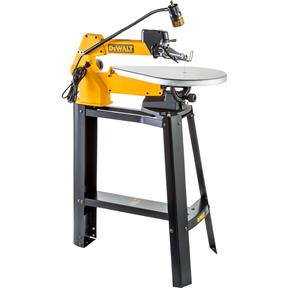 """DW788 20"""" Scroll Saw with Stand and Light"""