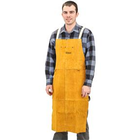 "Leather Welding Apron w/ 42"" Bib"