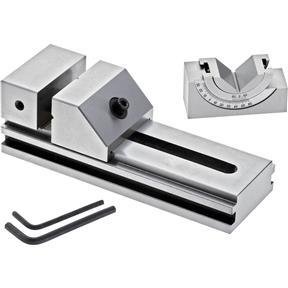 Tool Maker's Vise w/ V-Block