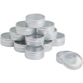"""2-1/16"""" Aluminum Mini Storage Case - 12 pk."""