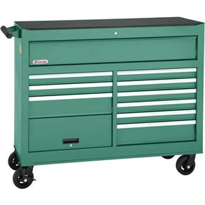 """53"""" 11 Drawer Tool Cabinet with Bulk Compartment"""