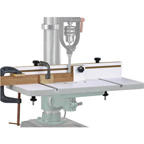 """23-3/4"""" x 11-7/8"""" Drill Press Table with 3"""" Fence"""