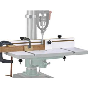 """Universal Drill Press Table with 3"""" Fence"""
