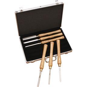 6 pc. Lathe Chisel Set In Aluminum Box
