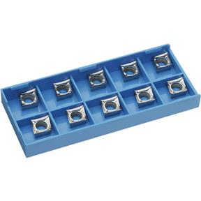 Carbide Inserts CCGT for Aluminum, pk. of 10