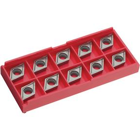 Carbide Inserts DCMT for Cast-Iron, pk. of 10