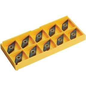 Carbide Inserts VNMG for Aluminum, Cast-Iron, pk. of 10