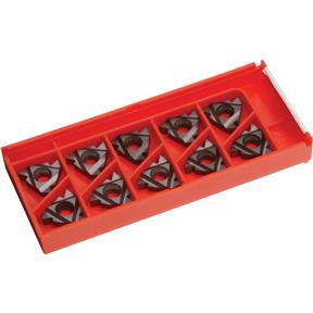 Carbide Inserts 16 IR G 60 for Stainless, Aluminum, Cast-Iron, pk. of 10