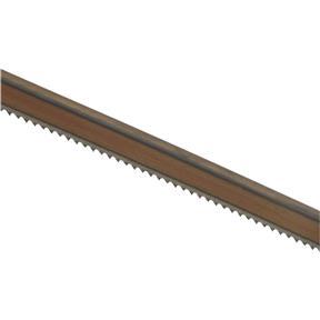 "165"" x 1/2"" x .025"" x 10 TPI Raker Bandsaw Blade"