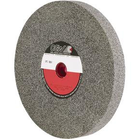 "A/O 12"" x 1-1/2"" x 1-1/4"" Grinding Wheel, Type 1, 24 Grit"