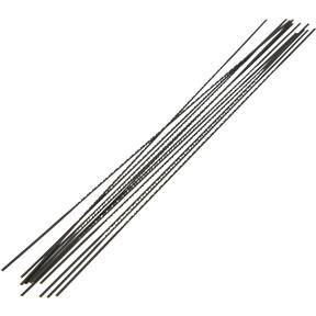 "#02 .032"" 22 TPI Flat, Plain End Scroll Saw Blade, 12 pk."