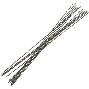 "#02 .046"" 44 TPI Spiral, Plain End Scroll Saw Blade, 12 pk."