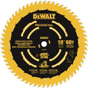 "10"" x 5/8"" 60t ATB .071 Precision Trim Saw Blade"