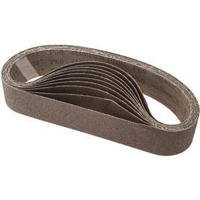 """2"""" x 27"""" A/O Sanding Belt 60 Grit, 10 pk."""