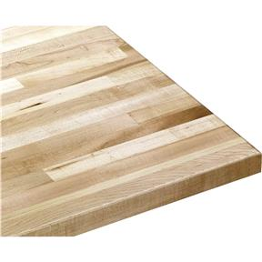 """Solid Maple Cabinet Top 36"""" Wide x 25"""" Deep x 1-1/2"""" High"""