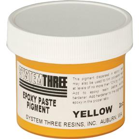 Color Paste Pigment, Yellow, 2 oz.