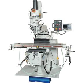 """10"""" x 54"""" 5 HP Single-Phase Mill with DRO"""
