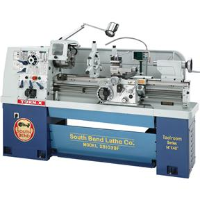 "14"" x 40"" 16-Speed 220V 3-Phase Lathe with Fagor DRO"