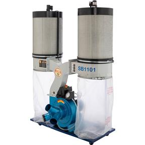 3 HP Double Canister Dust Collector