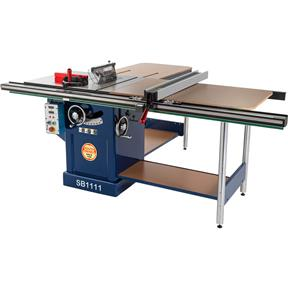 "10"" 3HP 220V Table Saw With Extension Rails"