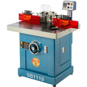3 HP Single-Phase Variable-Speed Spindle Shaper