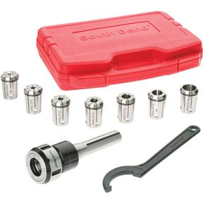 8 Piece Quick Change Collet Set, R8
