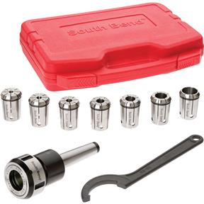 8 Piece Quick Change Collet Set, MT3
