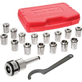 16 Piece Quick Change Collet Set, MT3