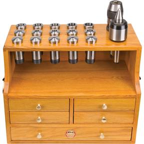 Oak Collet Chest for 5-C