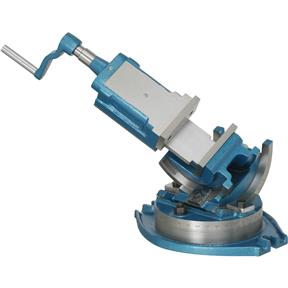 "4"" Three-Way Precision Angle Vise"