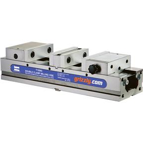 "4"" High Precision Double Clamp Milling Vise"
