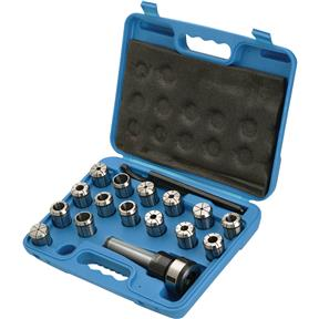 16 pc. MT3 Quick Change Collet Set