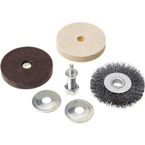 4 pc. Abrasive Tool Set for Drills