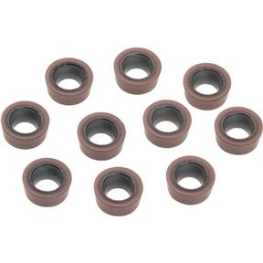 Carbide Inserts RCMT for Steel, Cast-Iron, pk. of 10