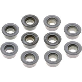 Carbide Inserts RDMT for Steel, Stainless, pk. of 10
