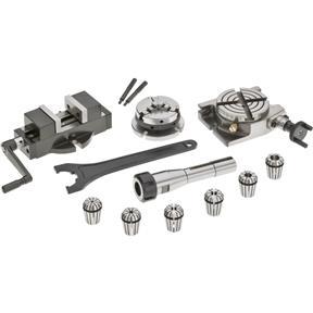 Milling Tool Kit, 10 Pc.