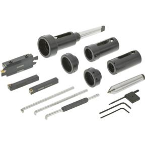 Indexable Turning Tool Kit, 13 Pc.