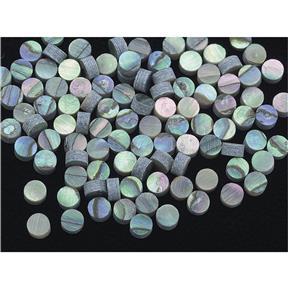 Paua Abalone Dots - 2.35mm