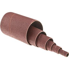 """1/2"""" to 3"""" x 4-1/2"""" A/O Sanding Sleeve, 80 Grit, 6 pk. Assorted"""