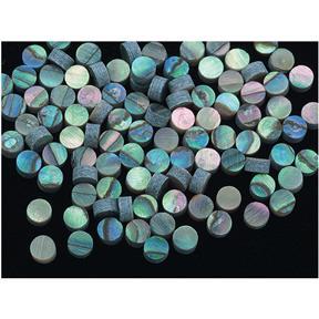 Paua Abalone Dots - 4mm