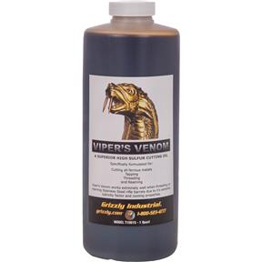 Viper's Venom Cutting Oil, Quart