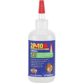2P-10 Jel Adhesive, 10 oz.