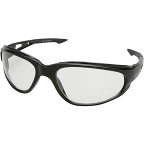 DAKURA Safety Glasses, Black/Clear