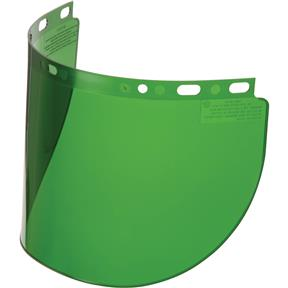 Green Replacement Face Shield