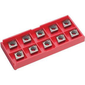 Carbide Inserts CCMT for Cast-Iron, pk. of 10
